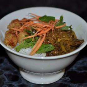 Bo Bun au boeuf & nems poulet