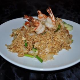 N°29A : Riz sauté aux crevettes à la Thai