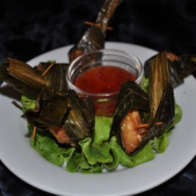 N°65 : Papillottes de poulet grillées dans la feuille de béteuil