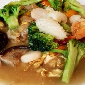 N°14FM : Pâte de riz sauté aux fruits de mer et légumes