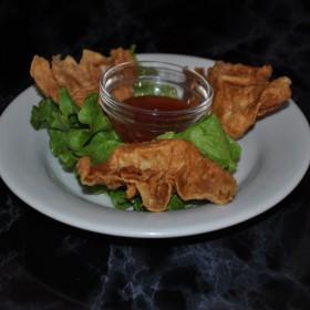 N°68 : Raviolis aux crevettes frits