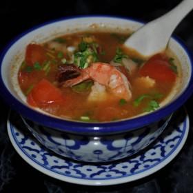 N°32S : Potage de fruits de mer au tamarin
