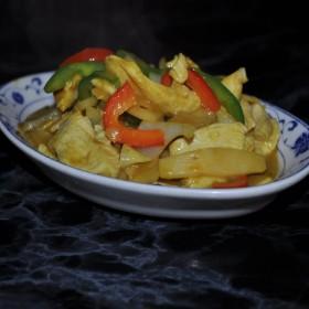 N°78C : Poulet sauté au curry