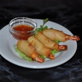 Crevettes frites à la Thaïlandaise