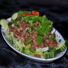 Salade de bœuf cru