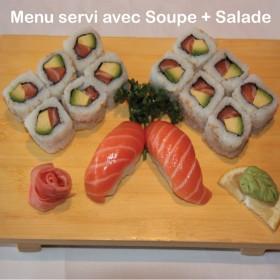 Menu P Maki Sushi Saumon