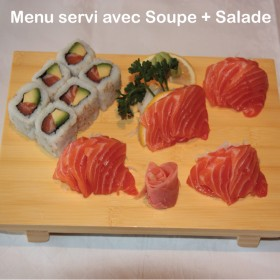 Menu California Sashimi