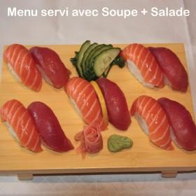 Menu Sushi Thon & Saumon