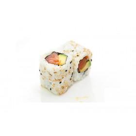 MC8. 6 pièces Avocat saumon fumée masago