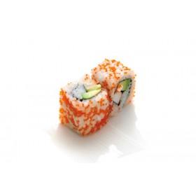 MC11. 6 pièces Masogo saumon concombre sauce spicy