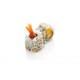 MC12. 6 pièces Crevette tempura mangue oignon sweet chili