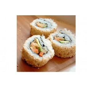 F9. 4 pièces Maki en beignet crevette tempura