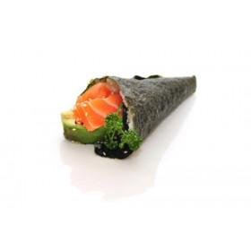 F5. 1 Temaki Avocat saumon